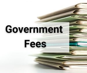 Government Fees