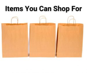 Items You Can Shop For